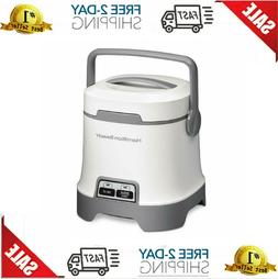 Hamilton Beach Oatmeal and Rice Cooker 3Cup Capacity White -