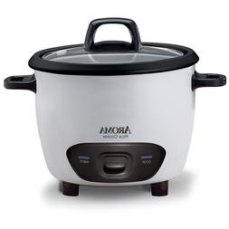 Aroma Housewares 6-Cup   Pot-Style Rice Cooker (ARC-743G