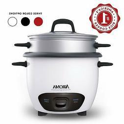 Aroma Housewares ARC-743-1NG 6-Cup  Pot Style Rice Cooker &