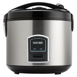 Aroma Housewares ARC-900SB 10-Cup Stainless Steel Cool Touch