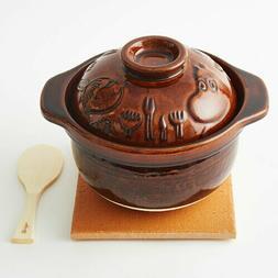 Nagatanien Iga rice cooker in 3 cups Moomin design made in J