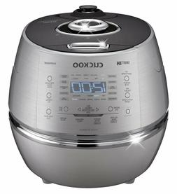 CUCKOO IH 2.0 Pressure RICE COOKER l CRP-DHSR0609F Silver/Bl