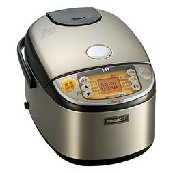 ZOJIRUSHI IH Pressure Rice Cooker 5.5 Cups Stainless Steel N