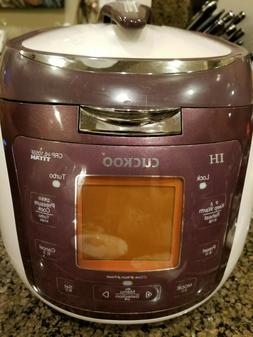 Cuckoo IH Pressure Rice Cooker, Multi cooker pot, PREMIUM QU