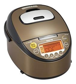 Tiger IH rice cooker 5.5 Go Brown recipe with cooked rice co