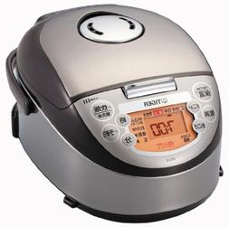Tiger IH rice cooker - 3 people Brown cooked mini rice cooke