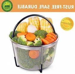 Instant Pot Accessories 5/6/8 qt Steamer Basket, Insert Fits