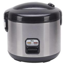 Sunpentown International 6-cups Rice Cooker with Stainless B