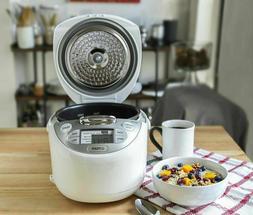 Tiger JAX-R10U-WY 5.5-Cup  Micom Rice Cooker & Warmer, Steam
