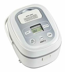 Tiger Corporation JBX-B10U Rice Cooker, 5.5-Cup, White