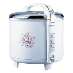 Tiger JCC-2700-FG 15-Cup  Rice Cooker and Warmer, Floral Whi