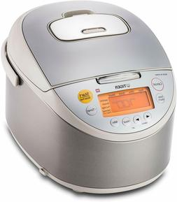 TIGJKTB10U Tiger JKT-B10U-C 5.5-Cup  IH Rice Cooker with Oat