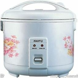 Tiger JNP-0720FG Rice Cooker / Warmer 4 Cups Floral White NE