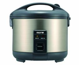 Tiger JNP-S18U-HU 10-Cup  Rice Cooker and Warmer, Stainless