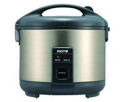 Tiger JNP-S15U-HU 8-Cup Uncooked Rice Cooker and Warmer Doub