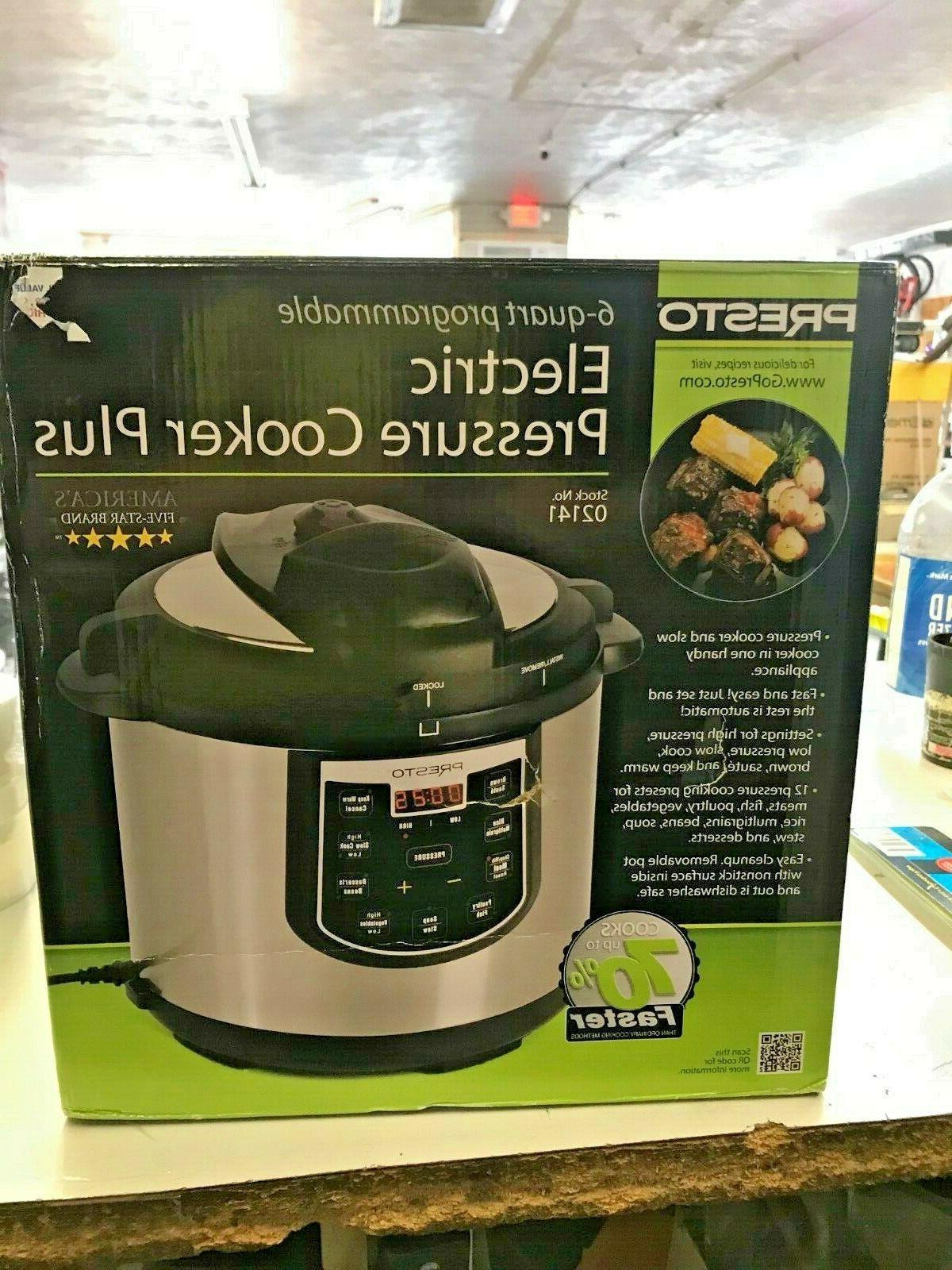 02141 electric pressure cooker