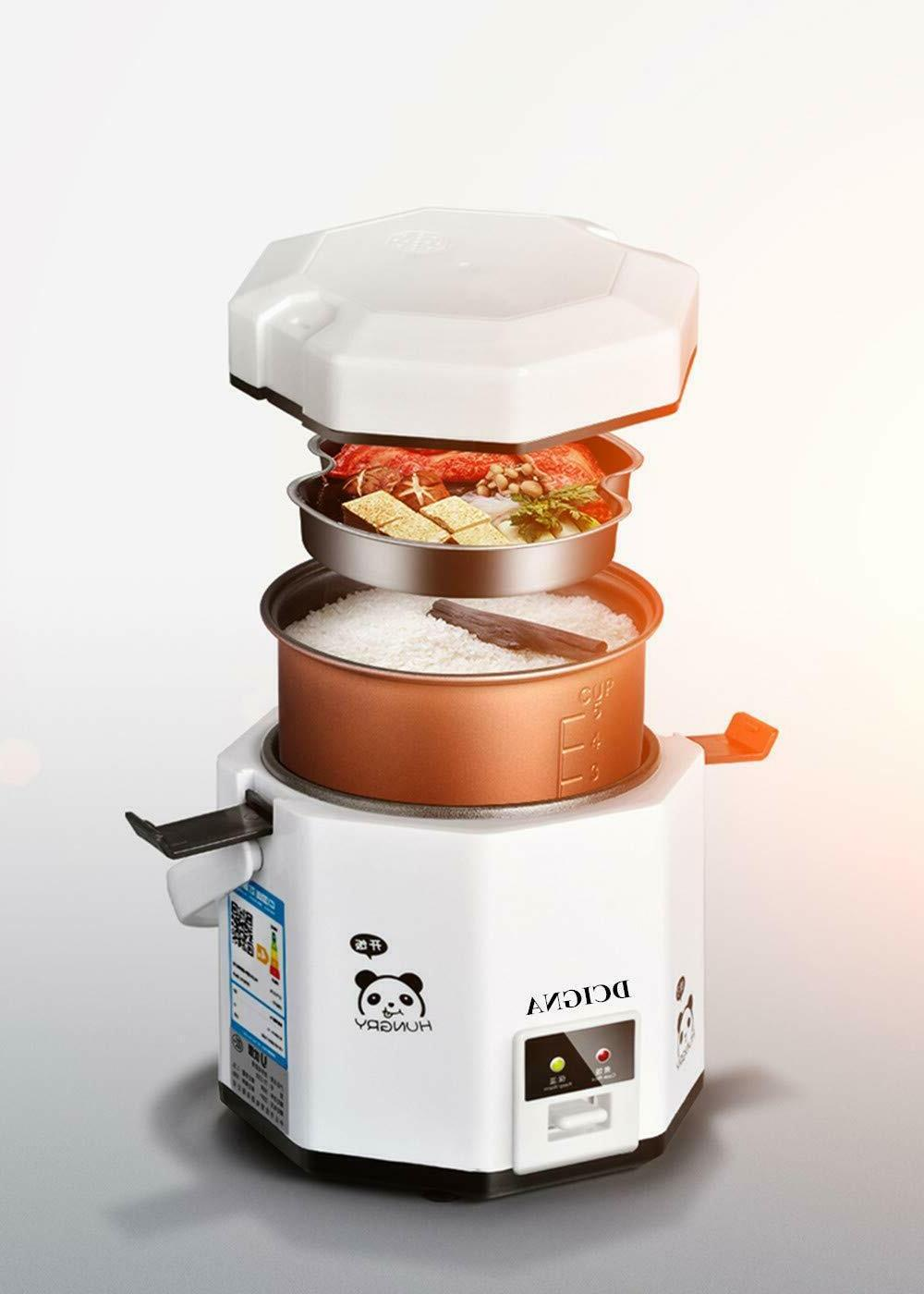 1.2L Mini Rice Cooker Electric Lunch Box Travel Rice Cooker