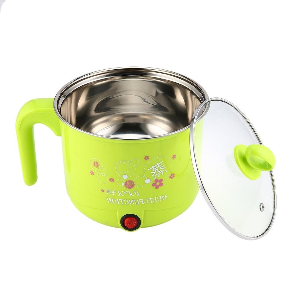 1.8L New Electric <font><b>Cooker</b></font> with Multifunction Steel Pot Pots Eggs Pan Soup