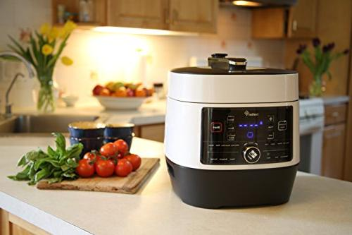 Ivation Pressure Cooker; Slow Cooker, Grade Q Iner Pot, Preset Power