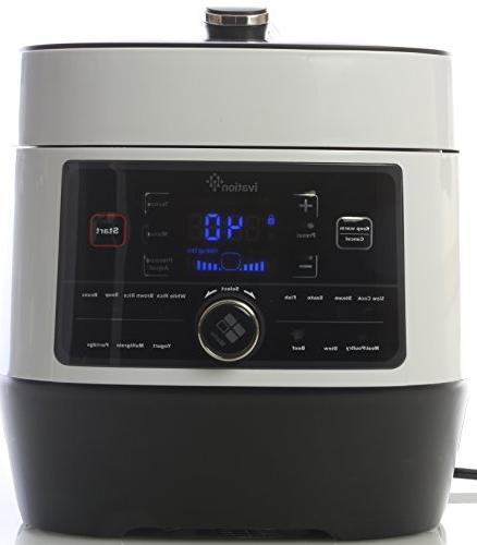 Ivation Pressure Cooker, Rice Grade Stainless Q Pot, Preset Power