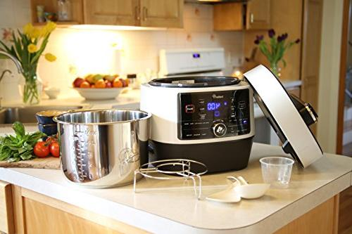 Pressure Steamer, Cooker, Cooker; High Grade 6.3 Q Preset 1000W Power