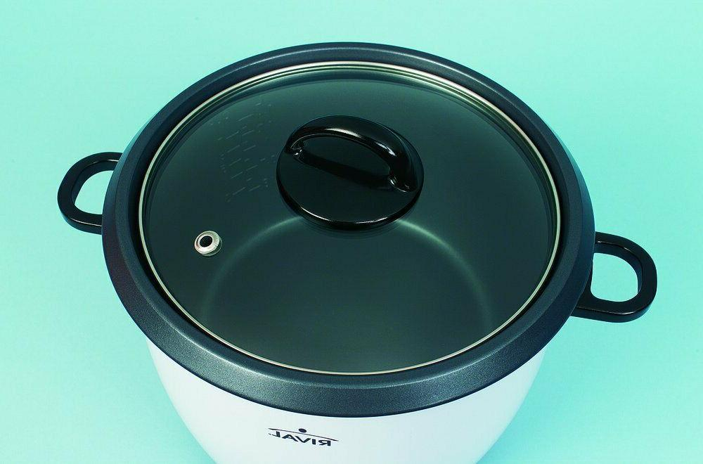 Rival 10-Cup with Basket, (RC101, 10-cup cooked