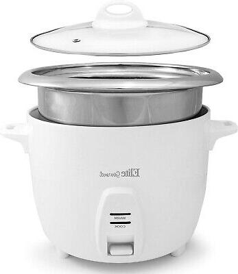 10 cups electric rice cooker and food