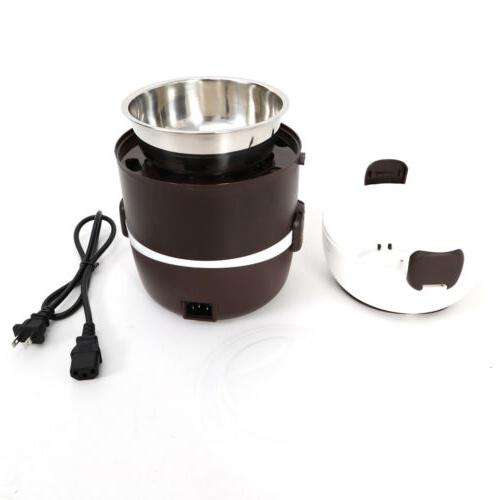 3 Lunch Portable Cooker Stainless Steel 110V