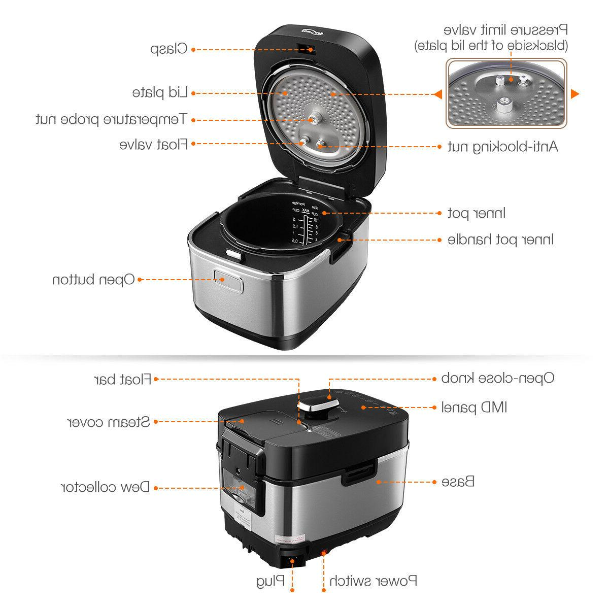Housmile 1000W IH Cooker Induction