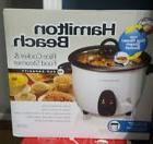 Hamilton Beach 16 Cup Rice Cooker & Food Steamer #37516 NIB