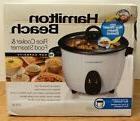 Hamilton Beach 16 Cup Rice Cooker & Food Steamer #37516 NIB