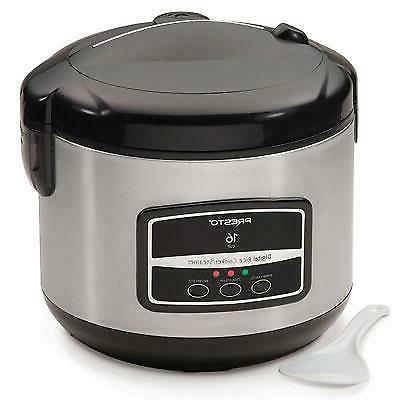 16 cup stainless steel rice cooker