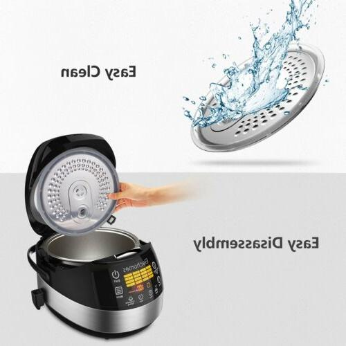 Elechomes Electric Rice Cooker Uncooked
