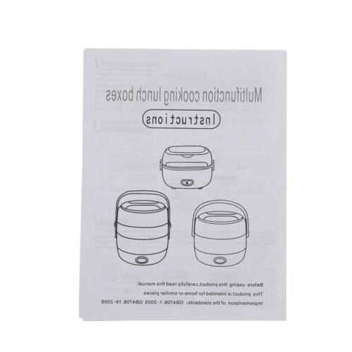 200W Box Steamer Mini Rice steel