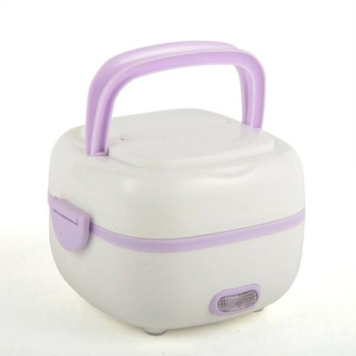1L Electric Box Rice Cooker Portable Food Steamer