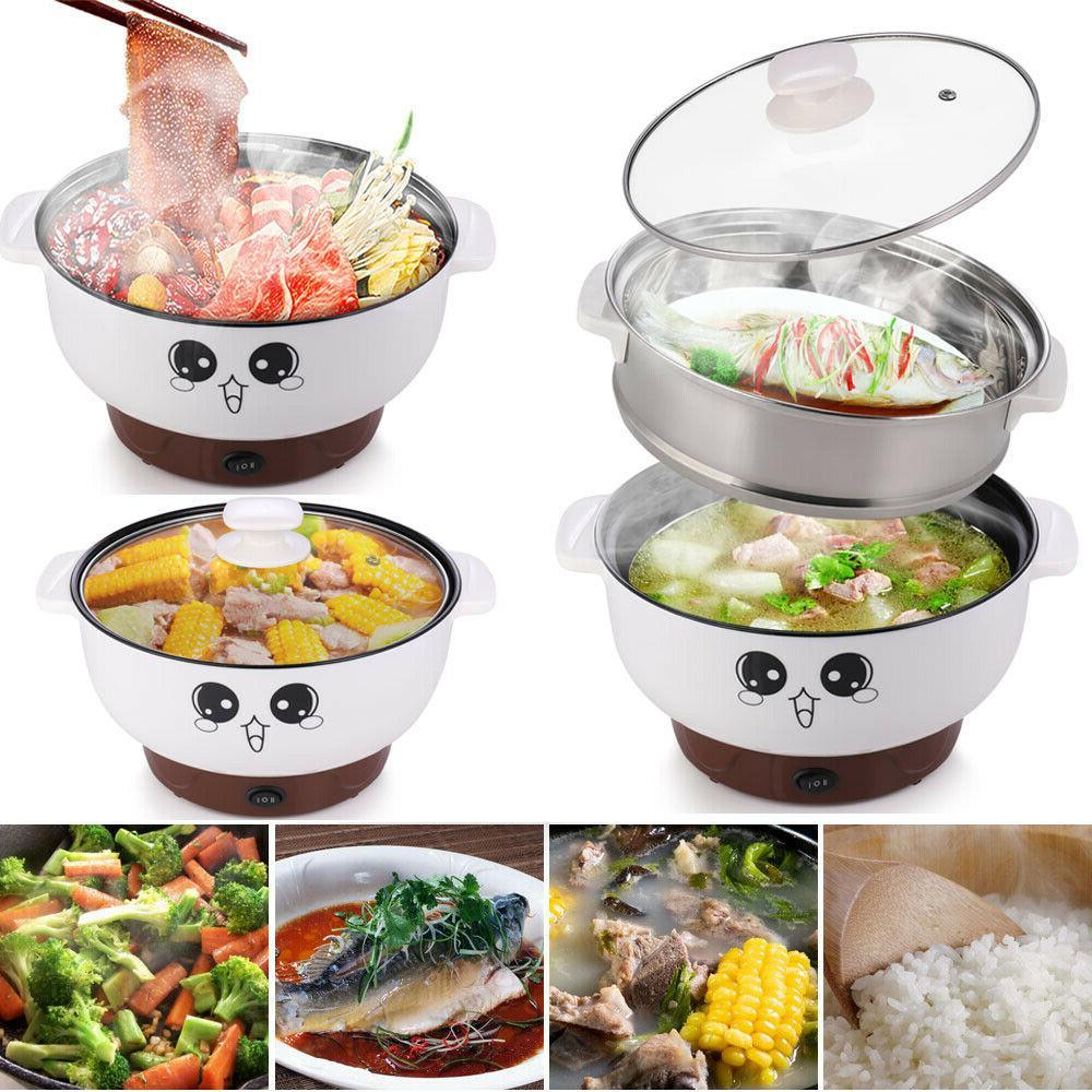 2 8l electric cooker skillet wok hot