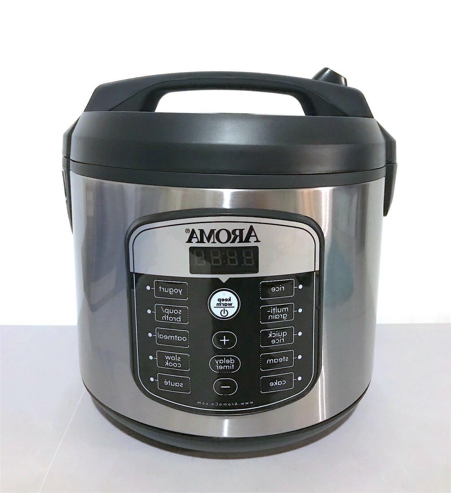 AROMA 5 Quart and Steamer ARC-1040SB
