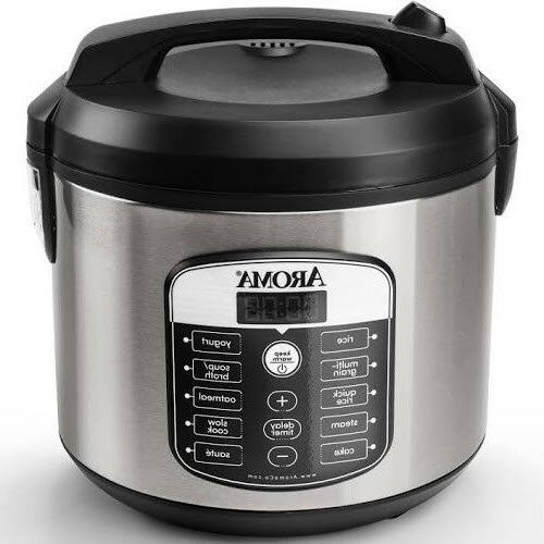20-Cup Digital Aroma Rice Cooker, Stainless free