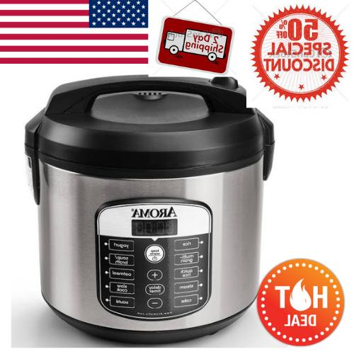 20 cup digital aroma multicooker rice cooker