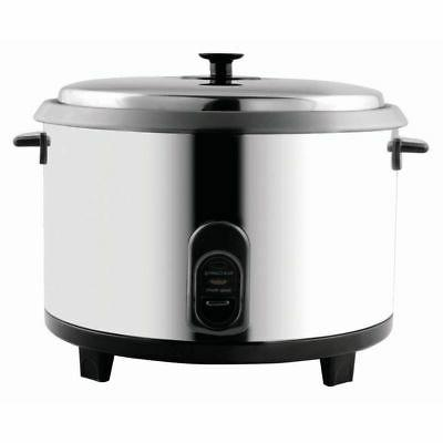 23 cup stainless steel rice cooker warmer