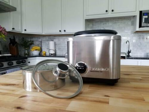 Cuisinart 4 Cooker/Steamer- Used.