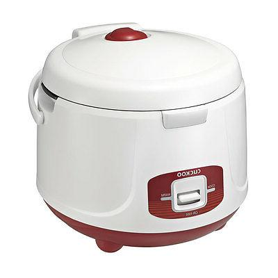 10-Cup Electric Rice Cooker Steamer Floral Portable Non Stic