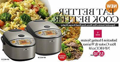 Zojirushi 5.5/10 Cup Induction Heating System Rice Cooker &W