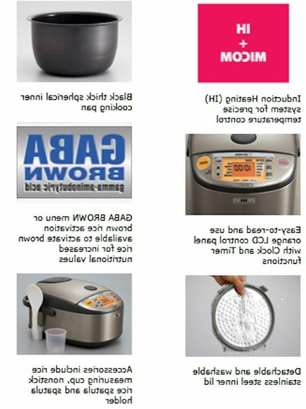 Heating System Rice Cooker Warmer NP-HCC10