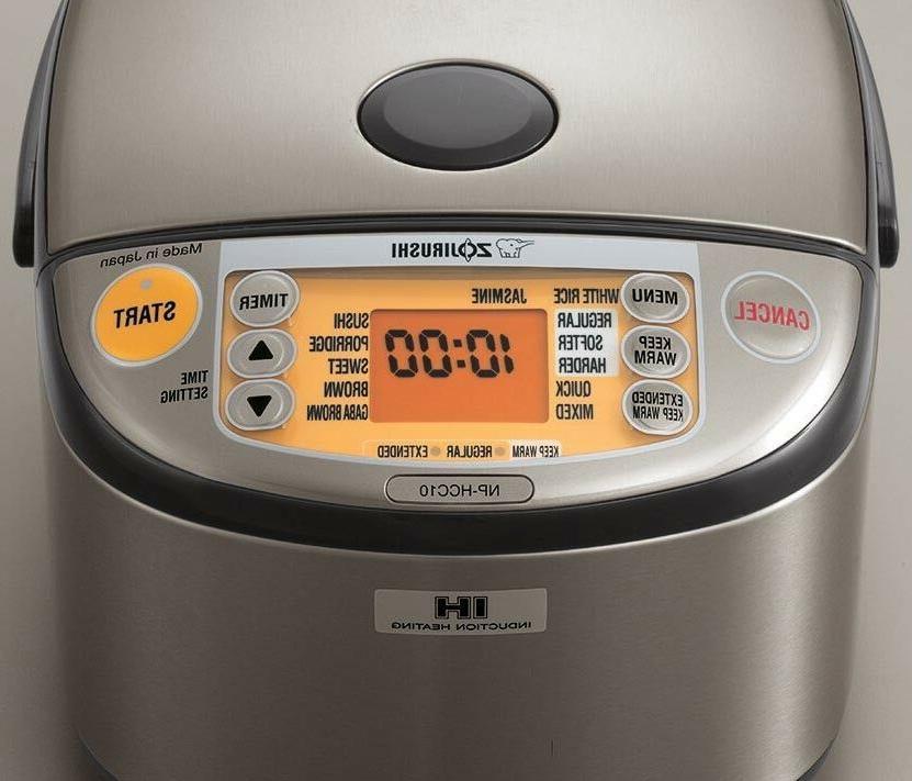 Zojirushi 5.5 Cup Induction Heating Cooker Warmer