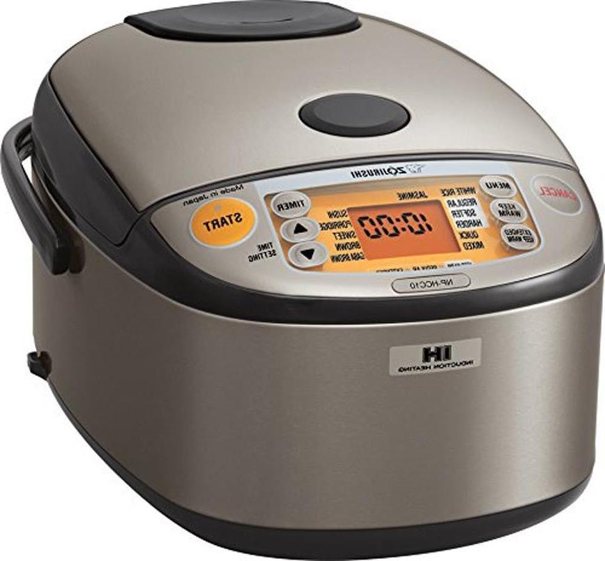 Zojirushi 5.5 Cup Induction Heating System Electric Rice Coo