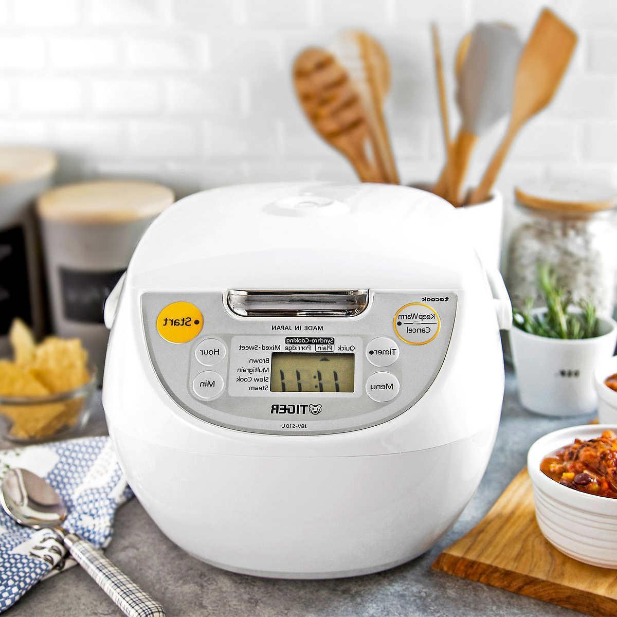 Tiger 5.5-Cup Micom Rice Cooker Made Japan Pot