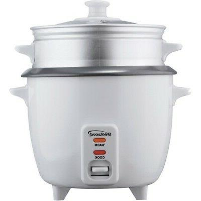 5 cup rice cooker with steamer in