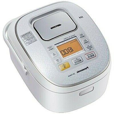 5cup 1L: Panasonic IH Rice Cooker Steamer Warmer White 220V