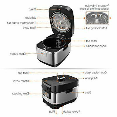 Housmile Electric Pressure Cooker Induction Heating System